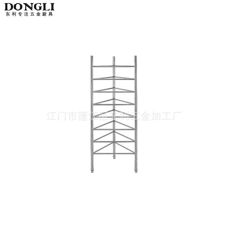 厂家直销坚固实用不锈钢置物架 八层蒸笼架